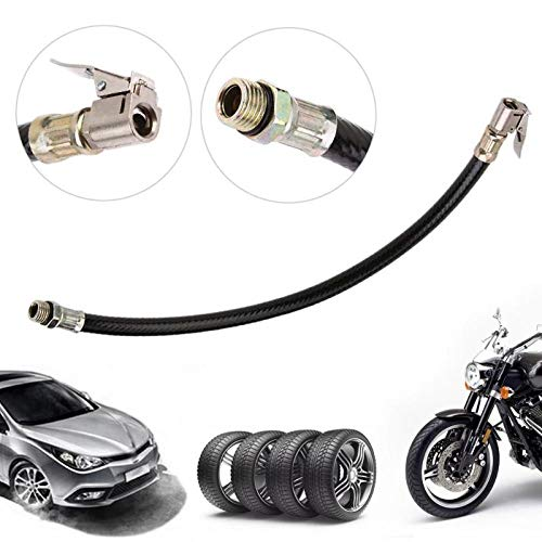 SaveStore Bicycle Pump Extension Hose 300psi Schrader Valve Inflator Tube Pipe Cord MTB Bike Cycling Accessories