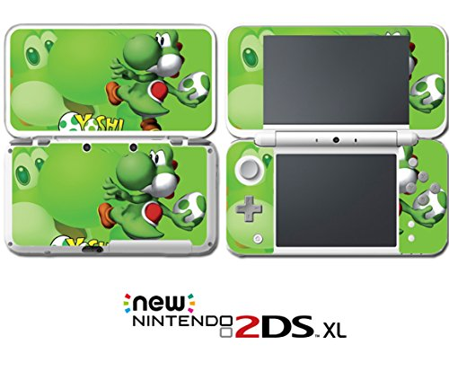 Super Mario Bros Yoshi's Island Egg Video Game Vinyl Decal Skin Sticker Cover for Nintendo New 2DS XL System Console (Ds Nintendo Yoshis Island)