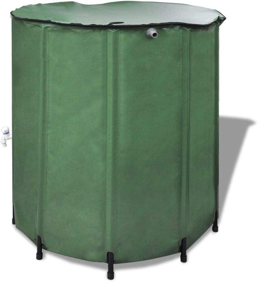 A-ZONE ZMIKI Wasserspeicher Regentonne Wassertank Wassertank 750L