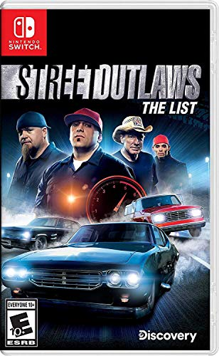 Street Outlaws: The List - Nintendo Switch Standard Edition