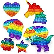 Brinquedo Pop It Fidget Colorido Anti-Stress Sensorial Importado Entrega Imediata