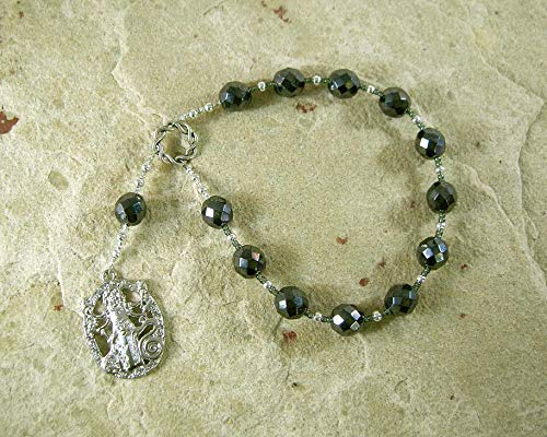 Hekate (Hecate) Pocket Prayer Beads: Greek Goddess of Magic and Witchcraft, Night and the Darkness, and Protection of the Home and Women