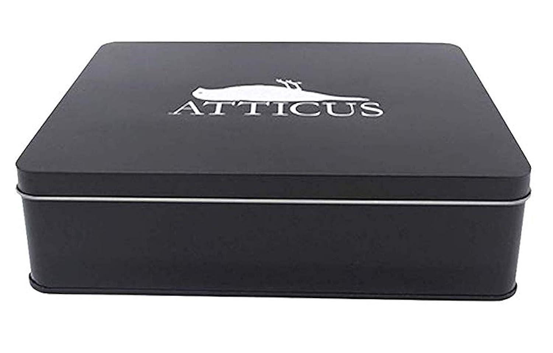Atticus - Crow Logo Boite Ensemble - Officiel T-Shirt Hommes + Bonnet & CD