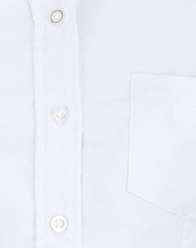 d34ee50245 Blusa Dama Dacache Manga Larga Oxford color Blanco Mujer Uniforme  Empresarial Ejecutivo Oficina  Amazon.com.mx  Ropa