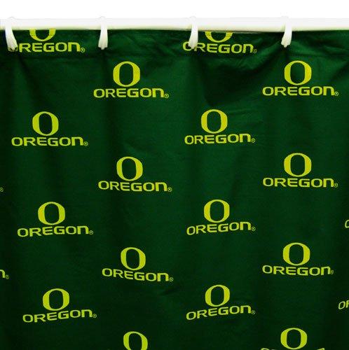 - Oregon Ducks 72'' x 70'' Green Collegiate Shower Curtain