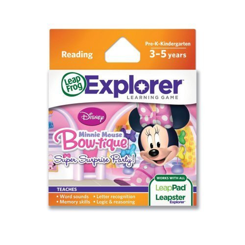 (Amazing Disney Mickey Mouse and Friends Minnie Mouse Bow-tique Super Surprise Party Explorer Learning Game by LeapFrog )
