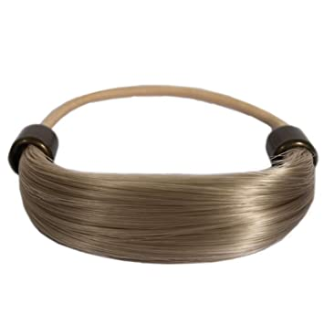 Mia Tonytail Ponytail Wrap Made Of Synthetic Wig Hair On An Elastic Rubber  Band, Classic and Effortless,