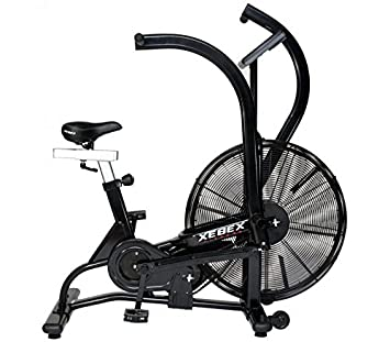 fan exercise bike. airbike by xebex | upright fan exercise bike i