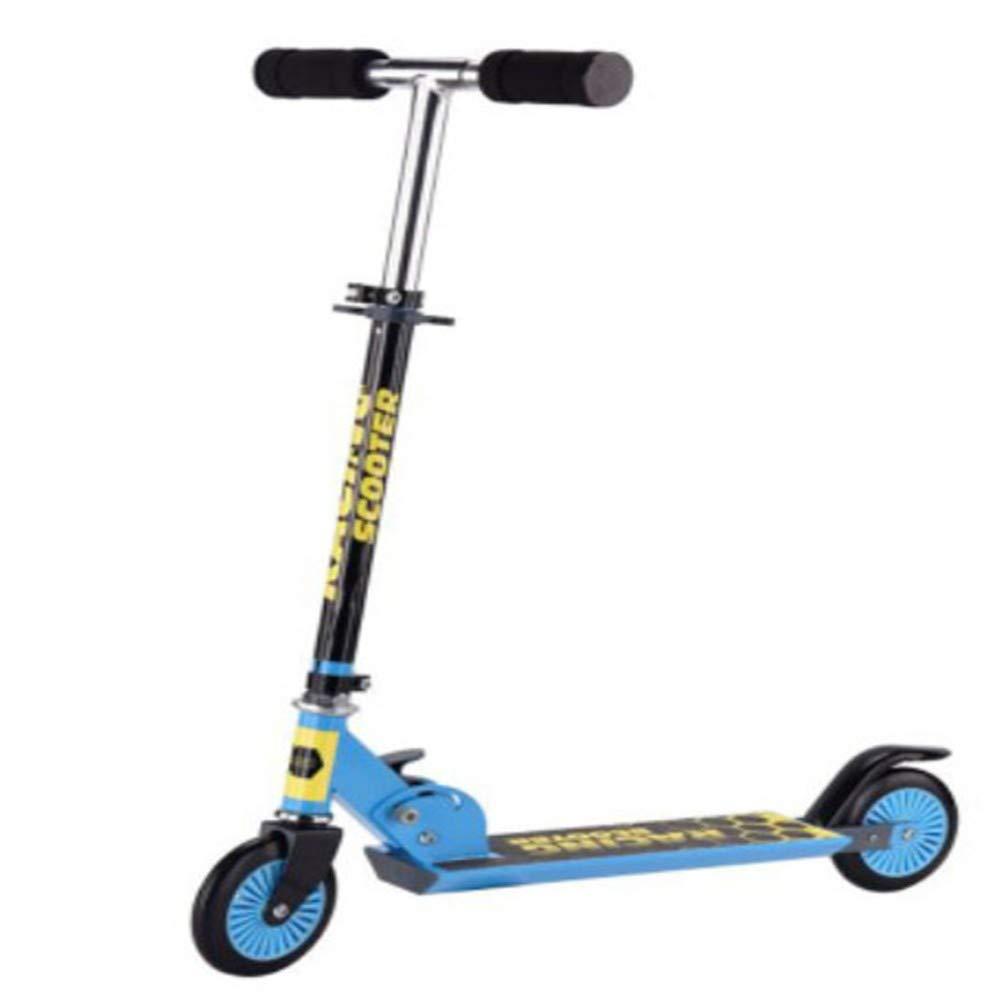 envío rápido en todo el mundo ZHIJINLI Scooter Scooter Scooter Infantil El Scooter Plegable de Dos Ruedas para niños Puede elevarse y plegarse 61  13.5  19.5  hasta 42% de descuento