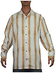 Tommy Bahama Mens Summer / Light Weight Island Shirt L Multicolor