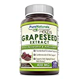 Pure Naturals Grapeseed Extract 400 Mg Veggie