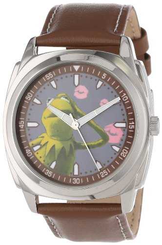 """Diseny Men's 50946-B Muppets """"Kermit"""" Vector Watch"""