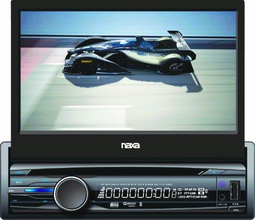 NAXA NCD-705 7-Inch Touch Screen LCD Display Motorized Sl...