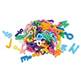 Hygloss Products, Inc. Alphabet Letter Plastic Colored Charms, 225 Pcs.