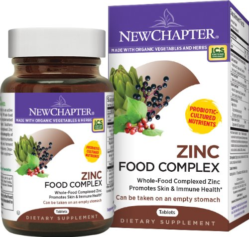 Newchapter. Zinc food Complex. 60t. 2 Pack ()