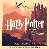 Harry Potter und der Orden des Phönix: Gesprochen von Rufus Beck (Harry Potter 5) (audio edition)