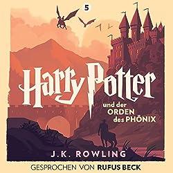 Harry Potter und der Orden des Phönix: Gesprochen von Rufus Beck (Harry Potter 5)