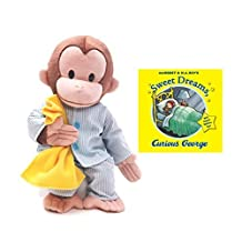 Curious George Pajamas and Sweet Dreams Book Set by Curious George