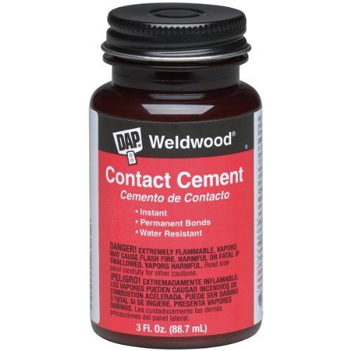 (DAP 00107 Weldwood Original Contact Cement,3 oz)