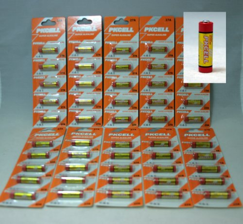 BlueDot Trading 27A batteries by PKCELL, 50 pack