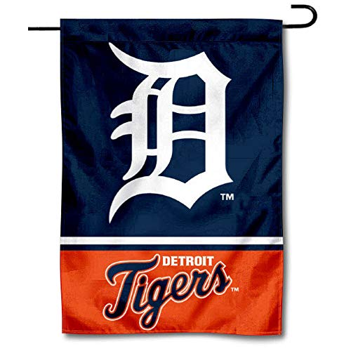 Detroit Tigers Flag - Wincraft Detroit Tigers Double Sided Garden Flag