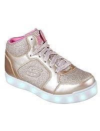 Skechers Girl's E-PRO-GLITTER GLOW Sneakers