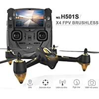 Xiangtat Original Hubsan H501S X4 RC Drone With 1080P HD Camera 5.8G FPV RC Quadcopter with GPS Follow Me CF Mode Automatic Return