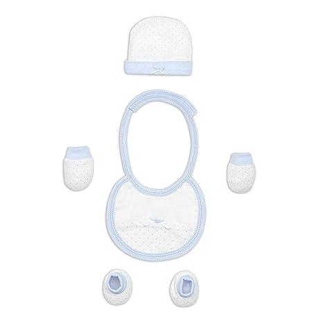 Set Primera Puesta 4 Piezas Azul - Regalos bebé MINDOO: Amazon.es: Bebé