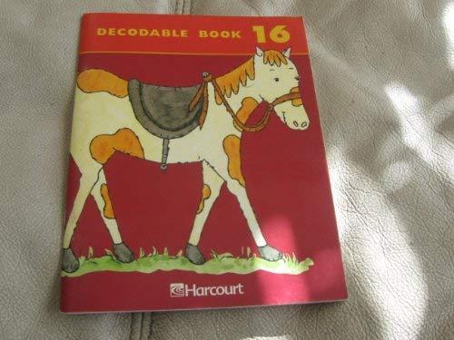 (Harcourt School Publishers Trophies: Decodable Book Bk16 Gr2)
