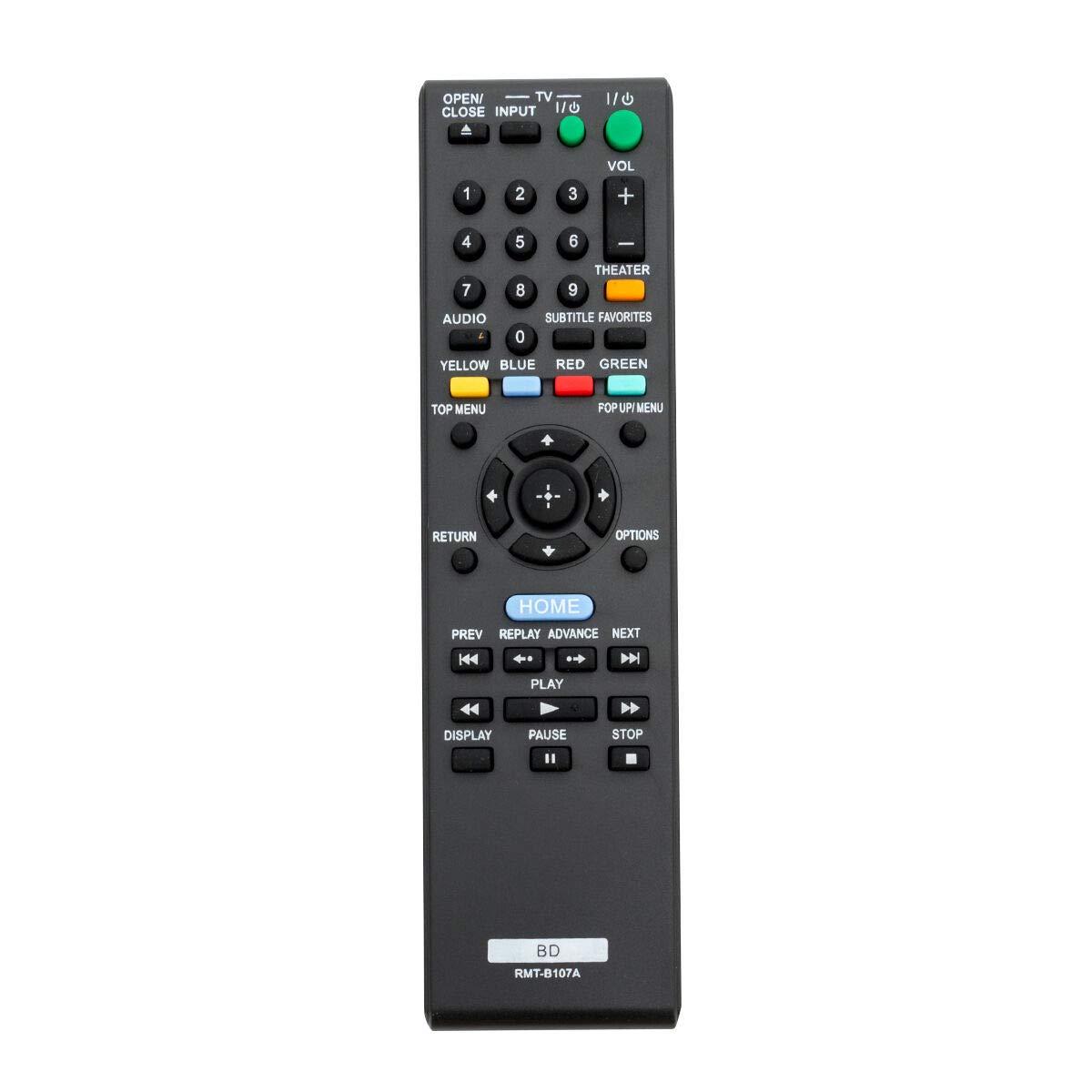 New Remote RMT-B107A Control for Sony BDP-BX37 BDP-S370 BDP-S373 45CS BDP-BX57