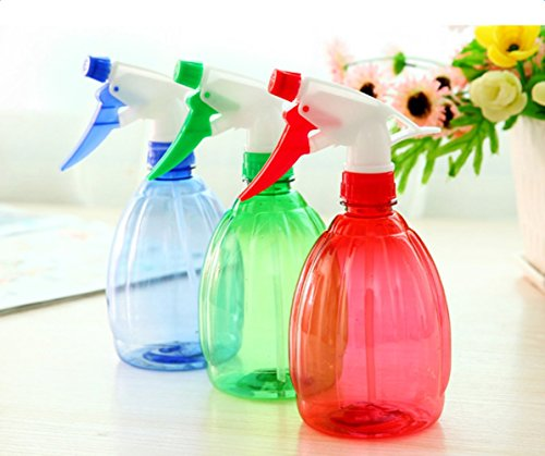 Plastic pet water spray bottle hair plants cat dog valet