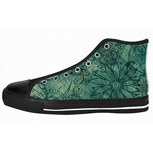 Custom arte albero dipinto Womens Canvas shoes I lacci delle scarpe scarpe scarpe da ginnastica Alto tetto