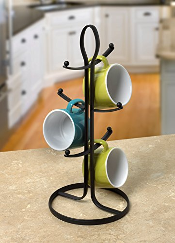 Spectrum Diversified Ashley Mug Holder, Black by Spectrum Diversified (Image #2)