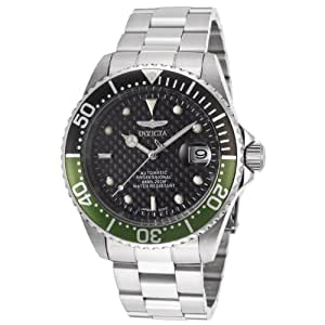 Invicta Men's 15586SYB Pro Diver Analog Display Japanese Automatic Silver Watch