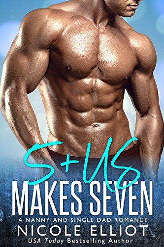 5+Us Makes Seven: A Nanny Single Dad Romance cover