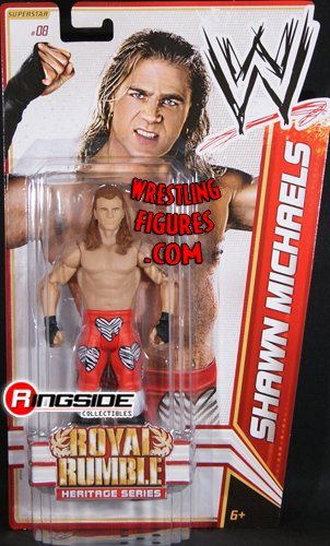 SHAWN MICHAELS - WWE SERIES 14 ROYAL RUMBLE HERITAGE WWE TOY WRESTLING ACTION FIGURE by WRESTLING