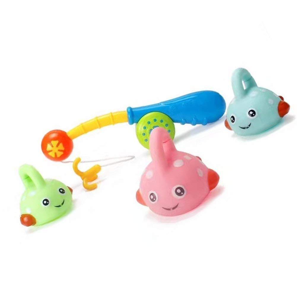 Conjunto de Juguetes para ba/ño de beb/é Squirts Bath Toys Pool Ba/ño Flotante Juguetes Make Sound Spray de Agua para ni/ños Ni/ño Beb/és y ni/ñas Juguetes de ba/ñera de Pesca