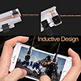 GUSTYLE PUBG Mobile Game Controller Sensitive Shoot Aim Keys L1R1 Trigger Buttons PUBG/Knives Out/Rules Survival, Support Both Android IOS System (2 Pair)