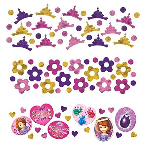 Disney Sofia The First Princess Birthday Party Confetti