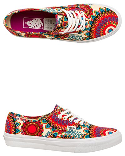 LEOPAR WASHED AUTHENTIC Vans floral para Zapatillas mag SLIM geo de lona mujer U qwawCxItZ