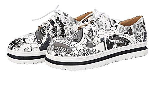 assorties noires lacets femmes Chaussures Couleurs Escarpins pour à VogueZone009 Pu q4U6Ow