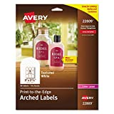 Avery Print to the Edge Arched Textured Labels (AVE22809)