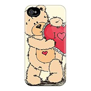 High Quality MeSusges Holidays Saint Valentines Day Valentine 03 Skin Case Cover Specially Designed For Iphone - 4/4s