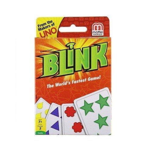 Game Fastest Worlds (Mattel Blink Card Game The World's Fastest Game, Pack of 16)