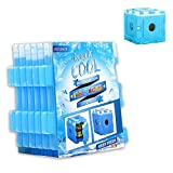 OICEPACK Slim Freezer Packs Cooler Ice Pack For Lunch Box, Joinable Slim Chillers