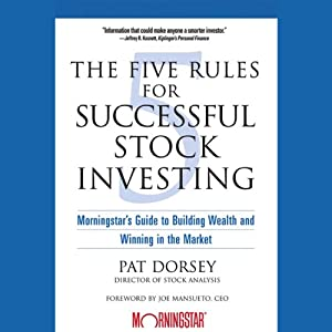 The Five Rules for Successful Stock Investing Hörbuch
