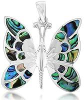 Tuscany Silver Damen-Anhänger Pava Shell Butterfly - 8.62.7122