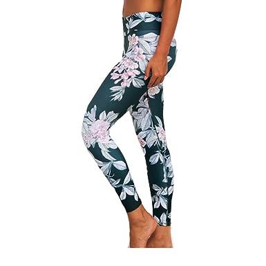efcf039204192f Fashion Floral Print Yoga Leggings Slim Fitness Yoga Pants Dancing Running  Sports Activewear Loungewear