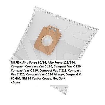 Bolsas de vacío de polvo MICRO-BAG adecuados para NILFISK ...