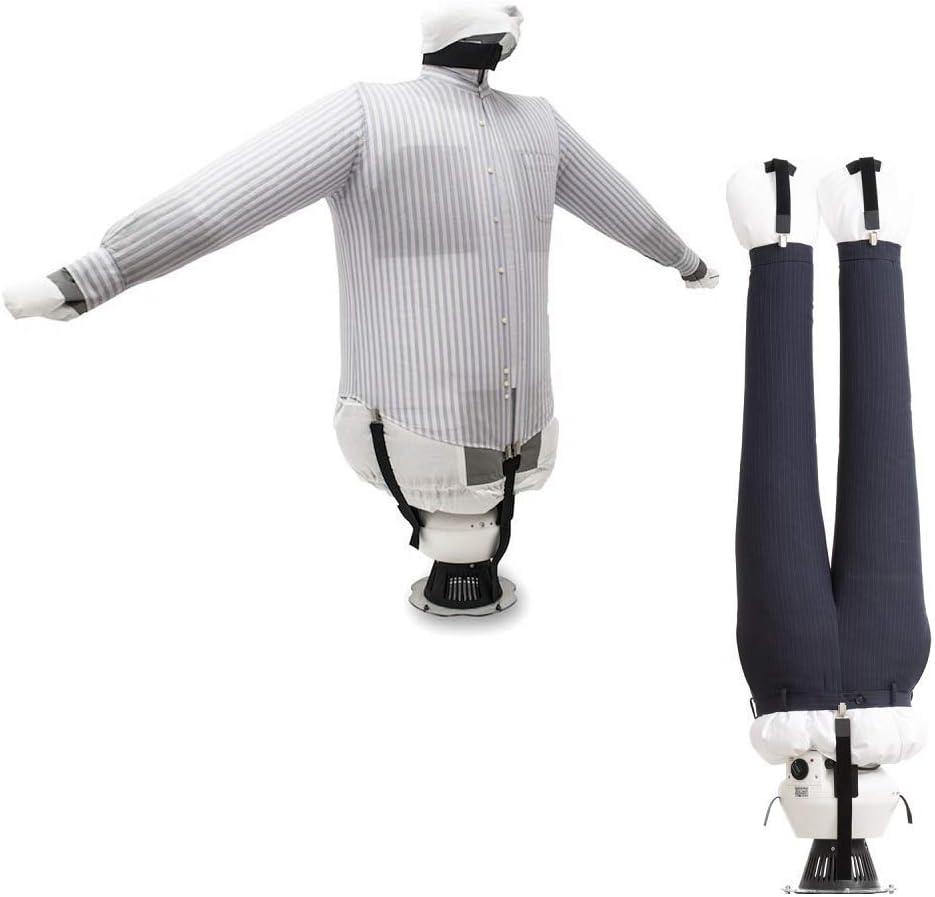 EOLO Plancha Secadora Plancha y Seca en automático camisas blusas pantalones Refresca ropa con aire frío Planchado vertical profesional 5 años de garantía SA04 INOX